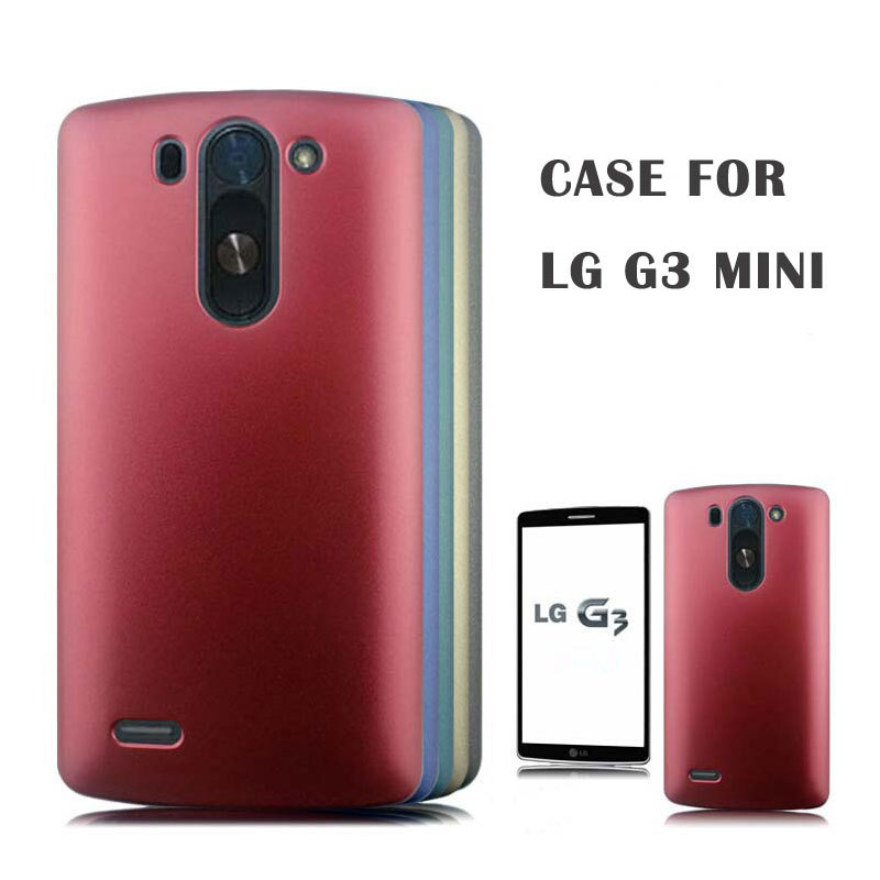 HIGH Quality Frosted Matte Plastic Hard sFor LG G3 MINI G3S Case For LG G3  MINI 858e5126f7a5