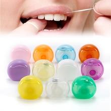 Y& W& F 1 шт. 10 м уход за полостью рта гигиена полости рта портативный pick Floss полиэстер Повседневная жизнь зубная нить межзубная щетка для чистки зубов инструмент