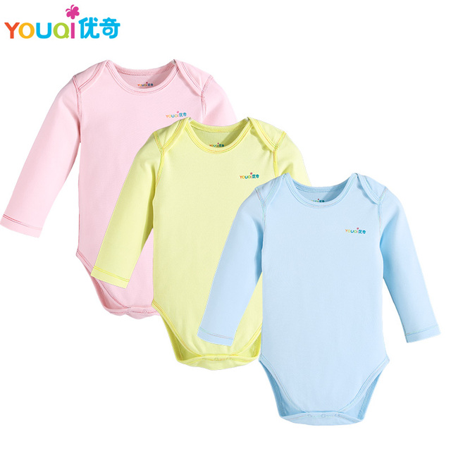 0c9c59e506c7 YOUQI 3Pcs Lot Baby Rompers Summer 3 6 9 Months Boys Clothes Cute Girl  Jumpsuit Pajamas Clothing Brand Toddler Infantil Costumes