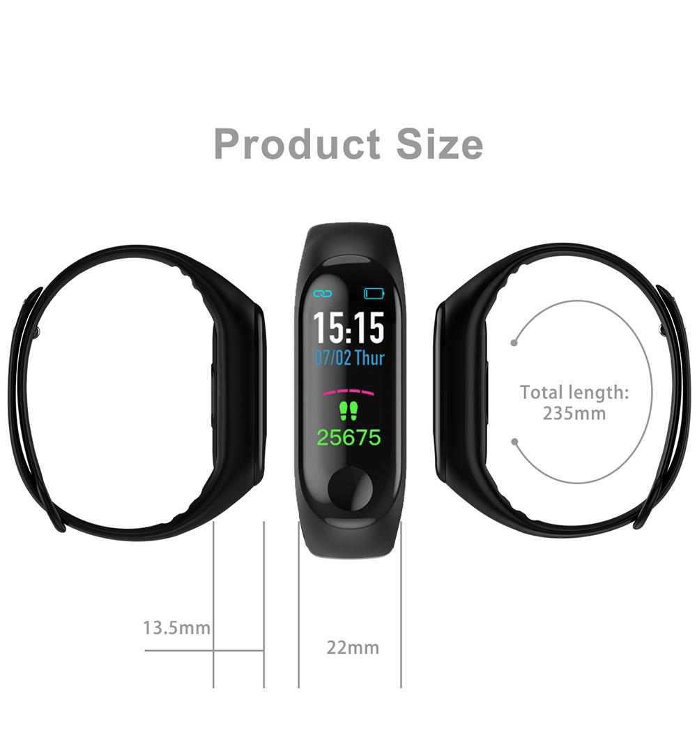 Relógio Inteligente de fitness Digital Esporte Bluetooth