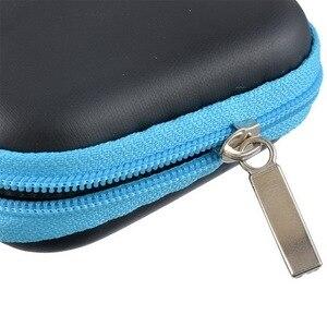 Image 4 - Kopfhörer Fall Reise Lagerung Tasche Für Kopfhörer Datenkabel Ladegerät Lagerung Taschen