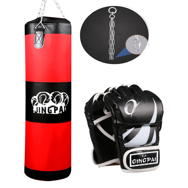 2016New Canvas sandbag child adult MMA kickBoxing Punching bag heavy duty Grappling fighting boxing gloves suit Empty punch bags suotf adult fitness boxing pear sports punching bag martial arts supplies boxing speed ball punching bag excercise equipment