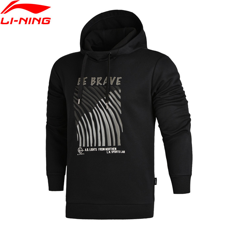 Li Ning Men The Trend Sweater WARM AT Regular Fit 66 Polyester 34 Cotton LiNing Sports
