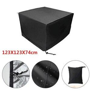 Image 3 - Чехлы для мебели, водонепроницаемые чехлы для уличной мебели, 12 размеров, защита от дождя, снега, дивана, стола, стула, пыли