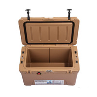Outdoor camping rotomolded plastic cooler box ice chest
