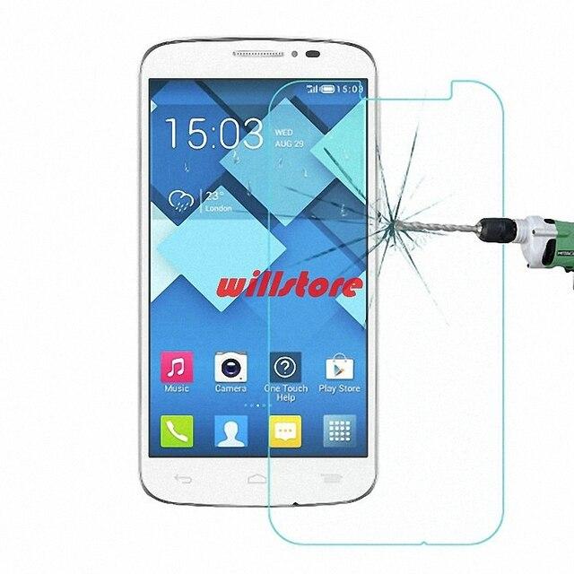 Cho alcatel one touch pop c7 ot 7040 7040d 7040a 7041 7041d 7041x tempered glass bảo vệ màn hình case glass bảo vệ phim