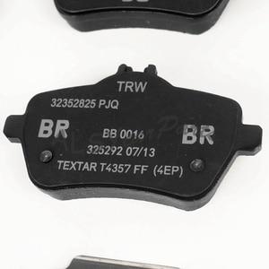 Image 5 - YIMIAOMO Kit de pastillas de freno trasero para Mercedes Benz, Kit de pastillas de freno trasero para Mercedes Benz W222 V222 Maybach S550 S550E C217 008 420 08 20 A 008 420 08 20, 4 Uds.