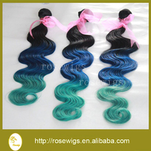 6A Brazilian Virgin Hair Weaves 3Pcs/Lot Bundles Unprocessed Virgin Brazilian Body Wave Wavy Brazilian Human Hair ombre color