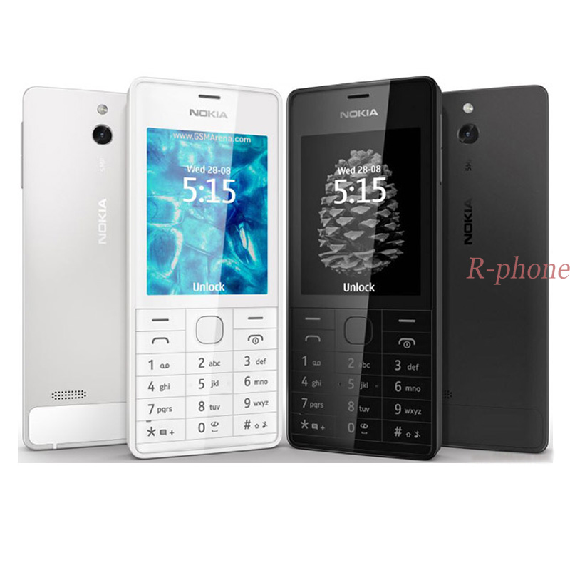 Hot Sale Original NOKIA 515 5MP 2 4 Single Dual Sim Card Mobile Phone Unlocked Refurbished