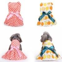 2018 New Dog Cotton Dress Puppy Wedding Dresses Dog Dress Wedding Pet Clothes Lace Tutu Dress Bow Apparel