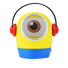 цена на Bluetooth Speaker glosnik parlante bocina enceinte Mini altavoz  Wireless portable Mini Cartoon Minions radio caixa de som