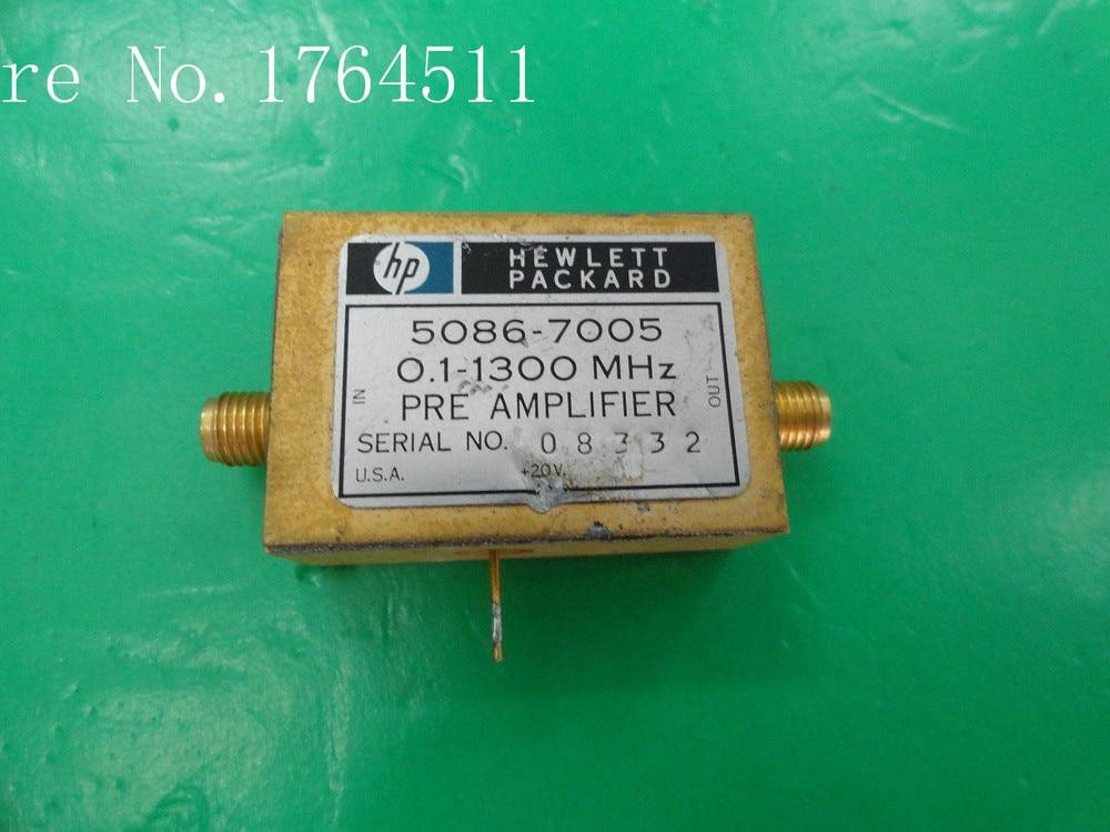 [BELLA] Original 5086-7005 0.1 - 1.3 GHz 20V SMA Amplifier