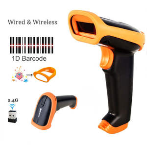 2.4G 30 m Laser Bar Code Reader For POS Inventory-HW-S2
