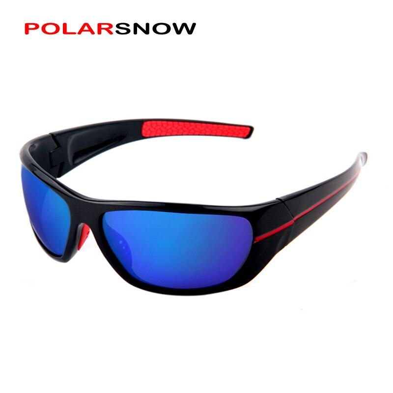 POLARSNOW 2019 Neue Sport Sonnenbrille Männer und Frauen Marke Designer Beschichtung Gespiegelt UV400 Schutz Fahren Sonnenbrille PS211B