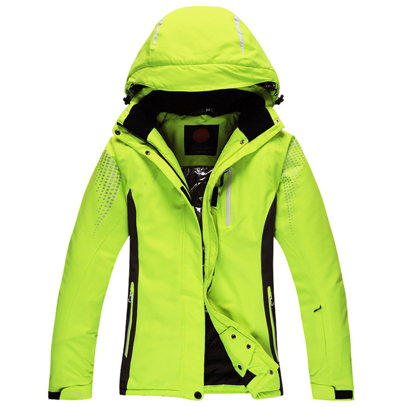 Women Winter Outdoor Snow Sport Skiing Jacket Waterproof Windproof Breathable Thermal Ski Suit Jacket for Women free delivery winter women and men ski suit outdoor camping jacket climbing waterproof windproof breathable sport coat