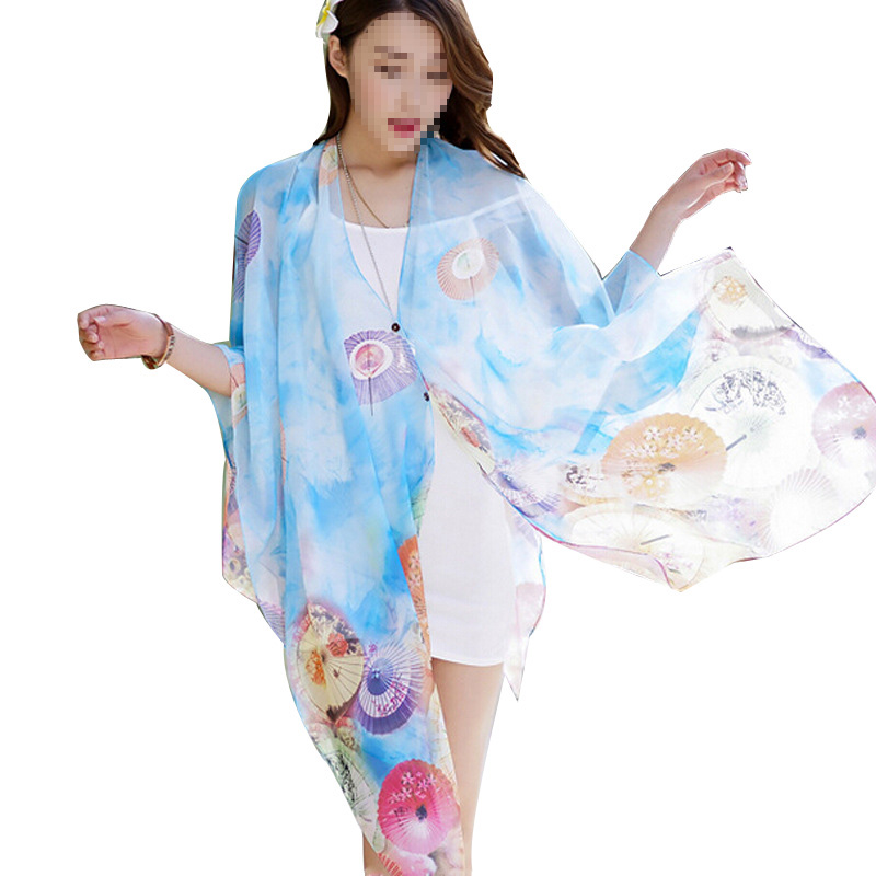 23a5c1b4828d4 Women Summer Floral Butterfly Sexy Pareo Dresses Sarong With Buttons Bikini  Cover-Ups Scarf Wrap Swimwear Beach Free Shipping