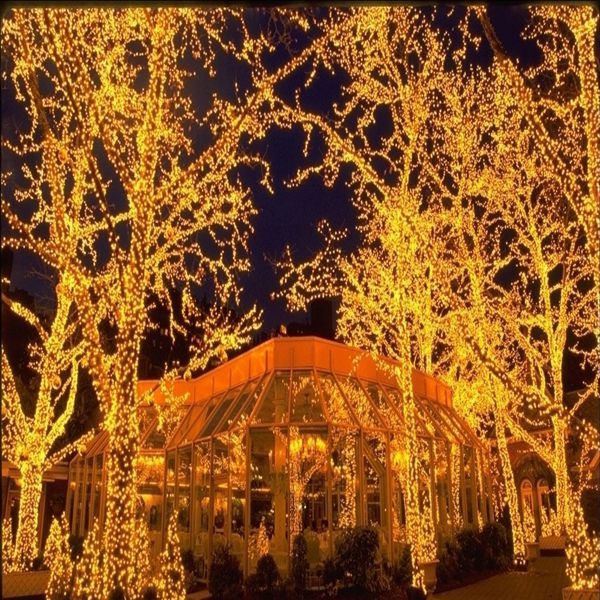 328ft100m 600 led christmas lights string fairy lights indoor outdoor usa party wedding decoration - Christmas Decorations Wholesale