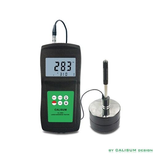 Leebio kietumo testeris Palmių dydžio LCD ekranas su galiniu apšvietimu Matavimo diapazonas 200–900L durometro testeris