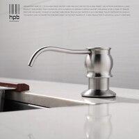 HPB Brushed Kitchen Soap Dispensers Deck Mounted Soap Dispensers For Kitchen Built In Countertop Dispensador De