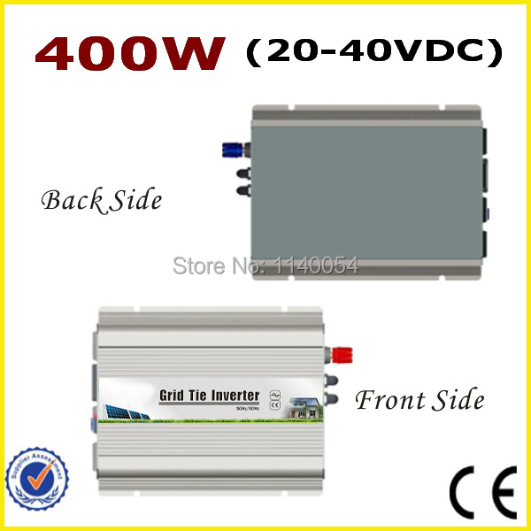 400W 20-40VDC MPPT Grid tie inverter for 400-480W 24V or 30V Solar System, 90-260VAC Full Voltage Output On Grid Inverter 400W solar power on grid tie mini 300w inverter with mppt funciton dc 10 8 30v input to ac output no extra shipping fee