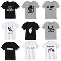 2019 nouveau été garçons t-shirt mode impression enfants t-shirt pour garçon coton à manches courtes bébé filles t-shirt enfants vêtements marque