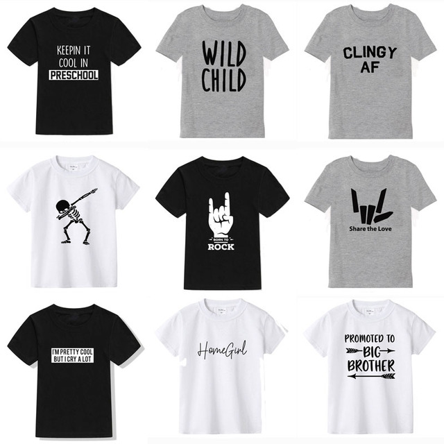 2020 New Summer Boys T-Shirt Collection