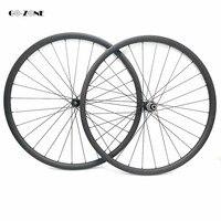 Novatec D411SB D412SB carbon MTB wheels hubs 27.5er asymmetric carbon disc wheel 38.5x28mm XC/AM tubeless 650b carbon wheelset