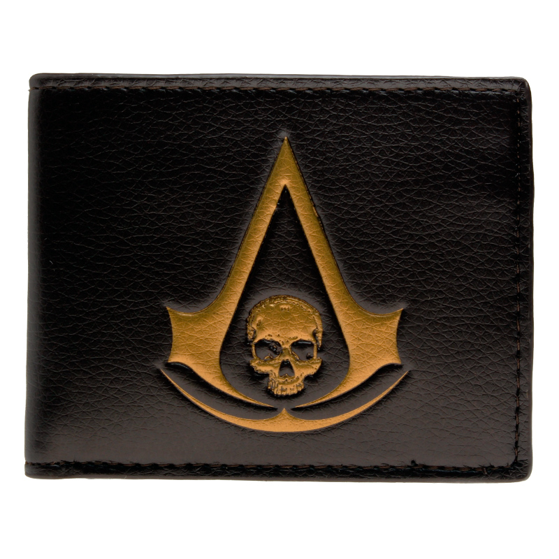 Assassins Creed 4 Black Flag wallet youth student individuality original paragraphs short transverse fashion purse DFT-1171