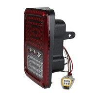 One Pair Car Tail Light Brake Light Turn Signal Lamp Rear Running Lights for Jeep for Wrangler LED Rear Reversing Brake Light