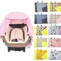 Exterior Tampa de Assento Tampa Do Assento Cesta Bebê Carrinho de Criança Duplo Cobertor Do Bebê Quente