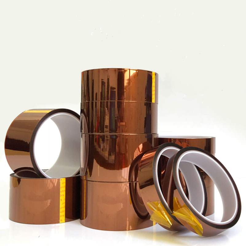 Image 5 - Brown High Temperature Polyimide Insulating Tape Soldering Resistance Battery Circuit Board Tape Transformer Electric-in Tape from Home Improvement