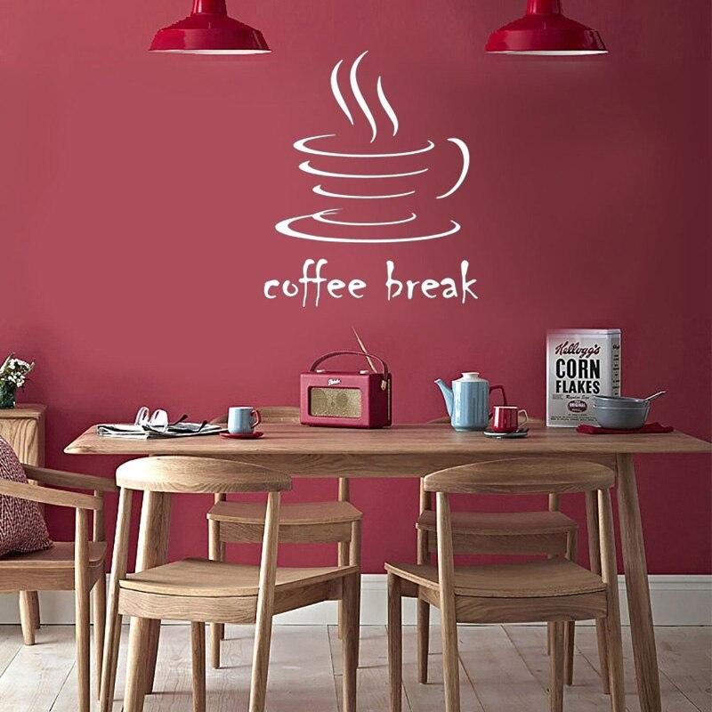 Creativo café etiqueta de la pared de la habitación dormitorio Cafe decoración Mural arte papel pintado casa decoración pegatinas Nivelador de posición de ajuste de altura de azulejos, nivelador Manual, azulejos de pared auxiliares, Espaciadores, herramienta de construcción de cerámica