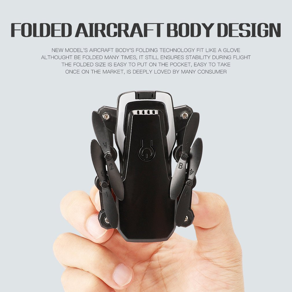 OCDAY RC <font><b>Drone</b></font> LF606 720P Camera <font><b>FPV</b></font> quadcopter HD altitude Hold <font><b>mini</b></font> foldable <font><b>drone</b></font> kid toys RC helicopter for Children image