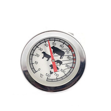 Stainless steel barbecue thermometer coffee milk dial temperature measuring tool cooking food probe kitchen