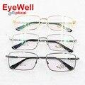 Full frame big face optical frame for men retro eyeglasses most fashion