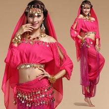 Dance-Costumes Bollywood Indian Orientale Women Chiffon