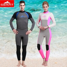 SBART 2015 Neoprene diving Moist swimsuit Ladies Browsing Wetsuits 3MM Males WetSuits Browsing Spearfishing Wetsuit Diving Go well with