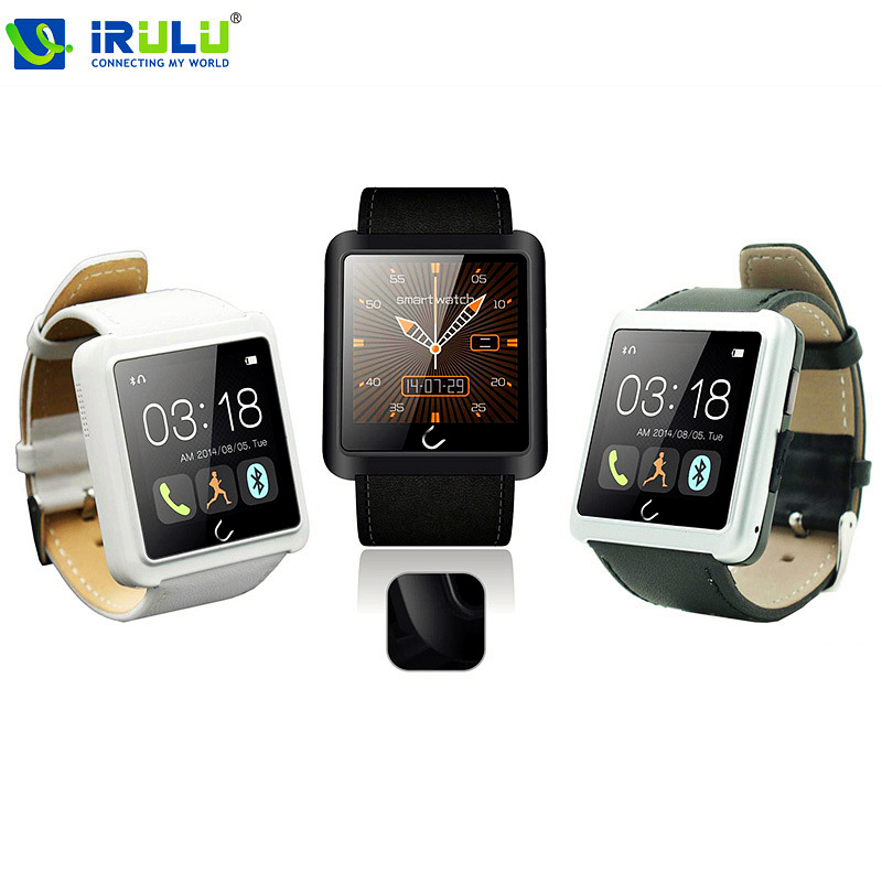 Free shipping 1 54 Inch U10 U Smart watch Anti lost Bluetooth Watch Waterproof Smart Android