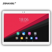 10 1 Inch Tablet PC Android 6 0 4GB RAM 64GB 3G Call Dual SIM Octa