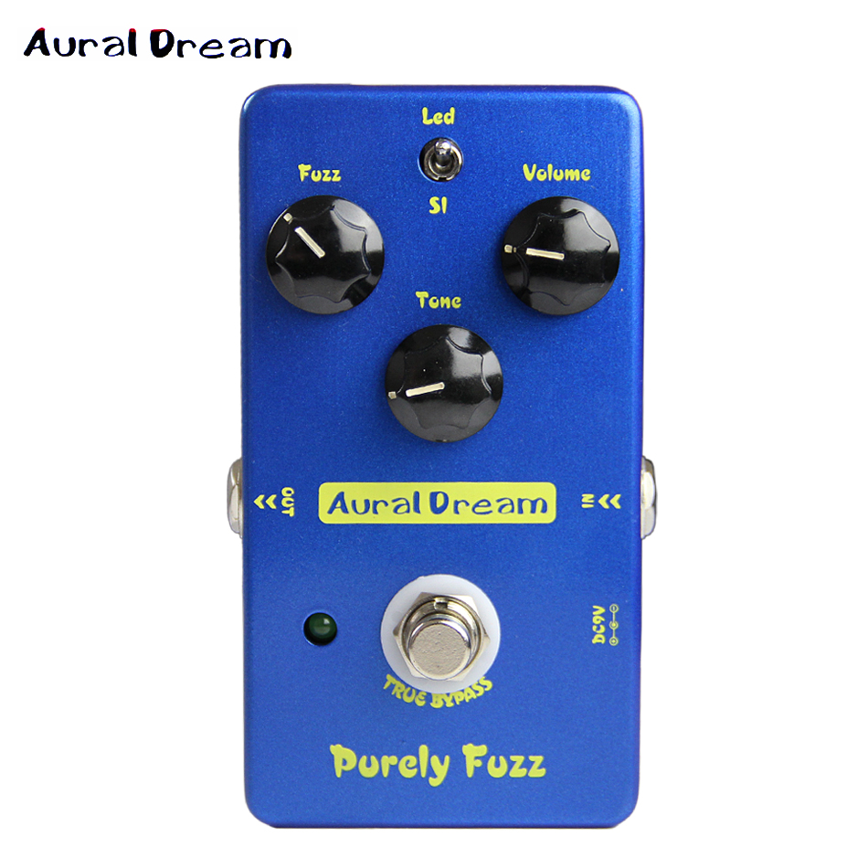 Aural Dream Purely fuzz Electric guitar effects Pedal copy Mad Professor Fire Red Fuzz True Bypass red mad зомфри блог глава 3