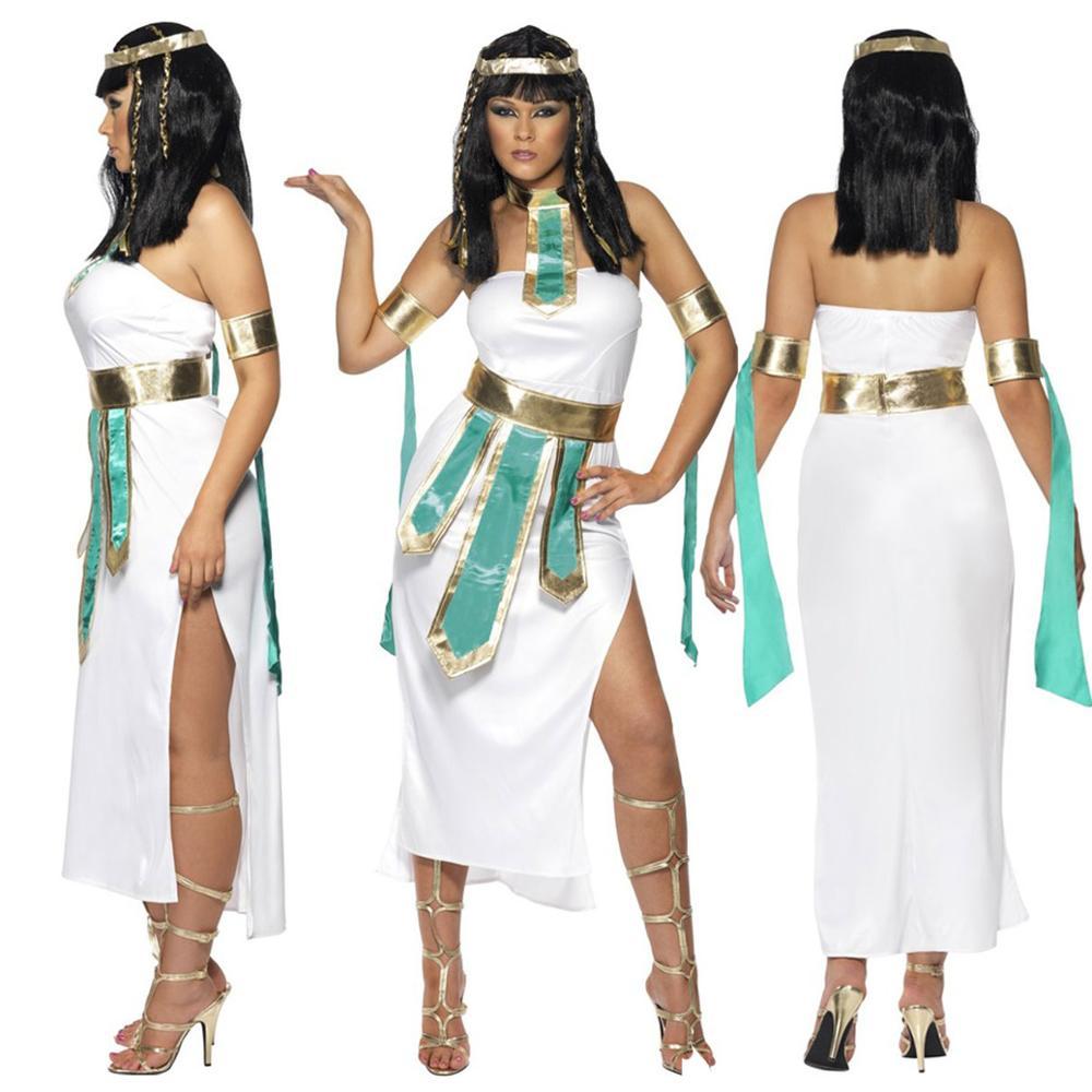 52312f9346 Sexy Greckiej bogini Kostium Halloween Dorosłych Cosplay Strój Fancy Dress  SM1801