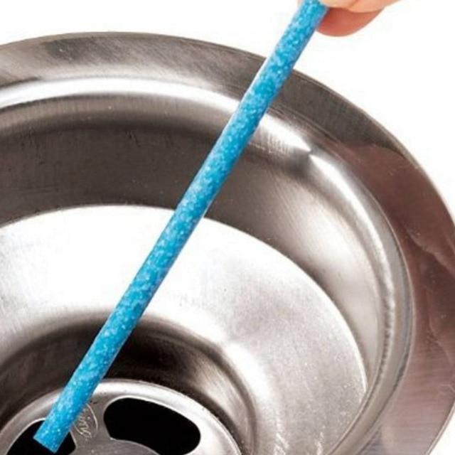 12 pz Scarico Detergenti Gasdotto Cucina Wc Vasca Da Bagno Decontaminazione Asta