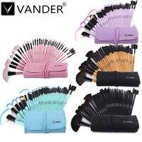 Vander Hot 32Pcs Professional Soft Cosmetic Makeup Eyeshadow Eyeliner Lip Powder Blush Brush Set Kit