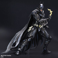 DC Comics Superhero Movie Batman red Limited Ver Action Figure Playarts Kai figurine kids hot Toys 27cm Model Play arts juguetes