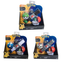 TAKARA TOMY POKEMON Bulbasaur Charmander Squirtle Super Bola Com Cinto Pokemon Action Figure Brinquedos Modelo para As Crianças Presentes(China)