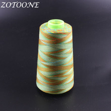 ZOTOONE 1500M/Roll Embroidery Sewing Machine Threads Polyester Overlock Patchwork For Leather Accessories