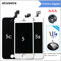 AAA Grade Display For IPhone 5S LCD Screen Assembly Digitizer Replacement Touch Screen For IPhone 5