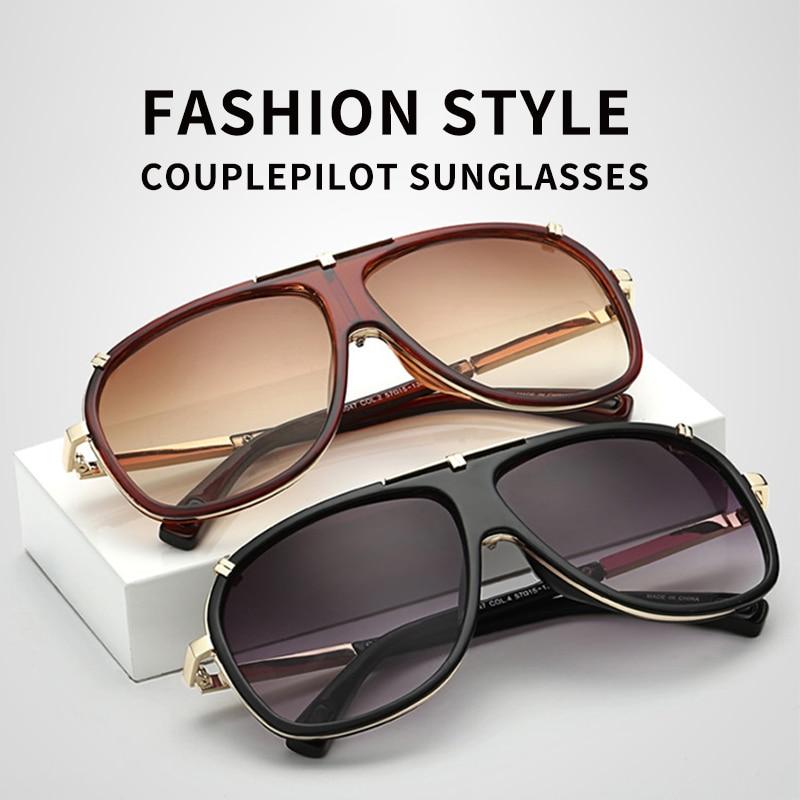 Image 3 - AIVERLIA Sunglass Man Vintage Mens Sunglasses Brand Designer Sunglass Male UV400 Gradient Lens Oculos Masculino Gafas AI41-in Men's Sunglasses from Apparel Accessories