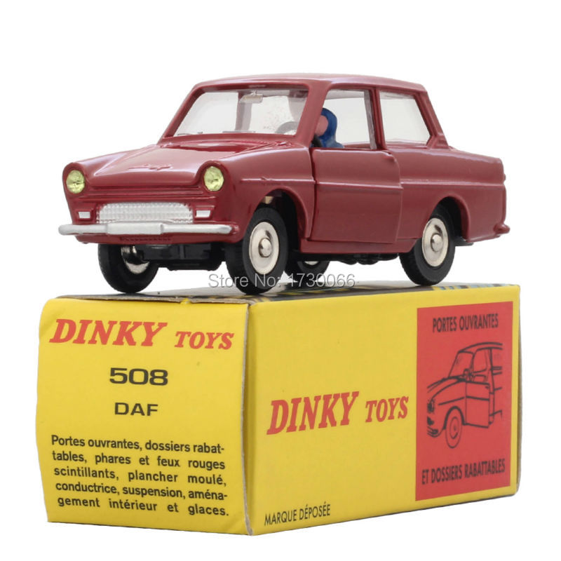 Dinky Toys  DAF 508 1:43 Atlas metal Alloy Diecast Car model & Model for Collection