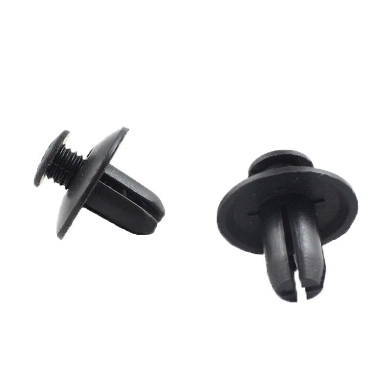 20 X MAZDA Nero in Plastica Vite Fit clip pannello foro 8 mm collo 15 mm